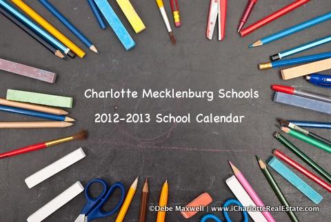 Charlotte Mecklenburg School Calendar 2012-2013