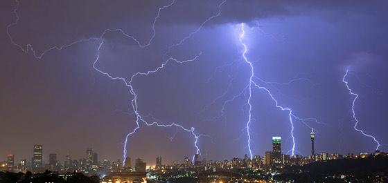 Johannesburg lightning