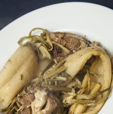 Παραδοσιακό κρητικό φαγητό που θεωρείται από τα πιο «καλά» και «επίσημα» φαγητά του νησιού