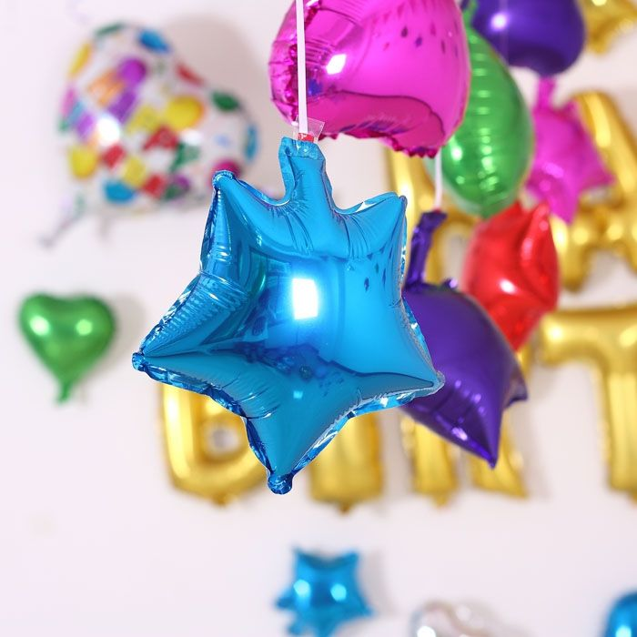 Купить товар20 шт./лот 5 дюймов серебристый цвет звезды блестящие фольги майлара гелиевых шаров день рождения / свадьба ну вечеринку украшения вариант в категории Шарикина AliExpress. 5inch 10pc/lot Inflatable Foil balloons lovers heart balloon gift Helium Balloon Birthday Party Decoration Ball Classic