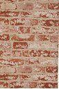 Brick Trompe L'Oeil Wallpaper  neat in a small space, maybe powder room?