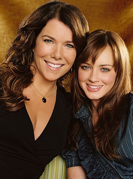 Gilmore Girls: Favorite Tv, Lauren Graham, Movies Tv, Alexis Bledel, Tv Series, Gilmore Girls, Gilmoregirls, Mom