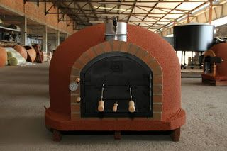 wood fired ovens: ROYAL Mediterranean Outdoor Pizza Oven