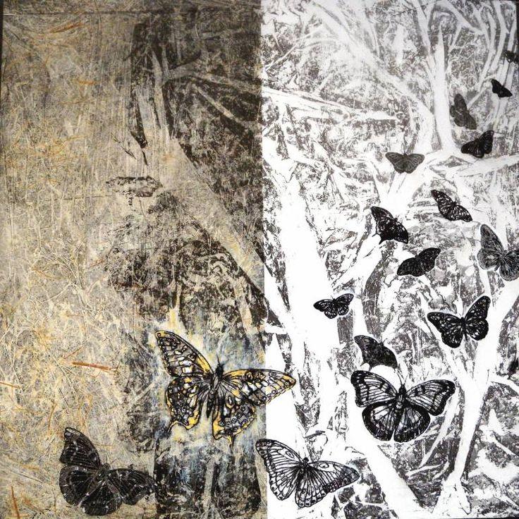 "Saatchi Art Artist Daniela Carletti; Painting, ""Migration n.1"" #art"