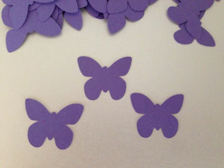 120 Die Cut Butterfly Wedding Table Confetti Party Decoration Sprinkles