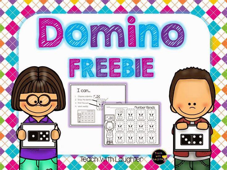 FREE domino number bond math activity