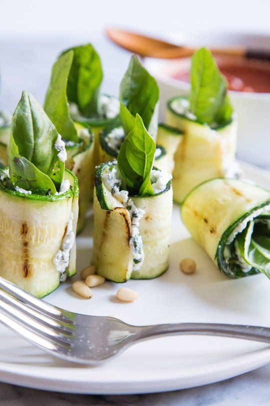 Recipe: Grilled Zucchini Roll-Ups with Ricotta and Herbs