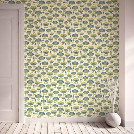 17 best images about autour du papier peint des tissus on pinterest t - Papier peint patchwork ...