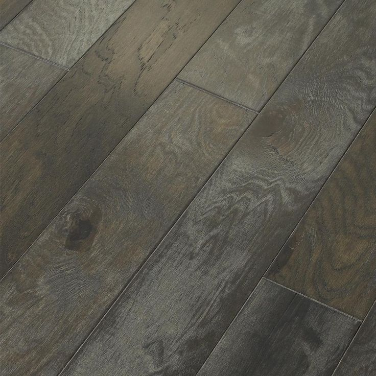Majestic Hickory Grandview Engineered Click Hardwood Flooring - 5 in. x 7 in. Take Home Sample​