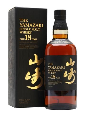 Yamazaki Single Malt Japanese Whisky Aged 18 Years