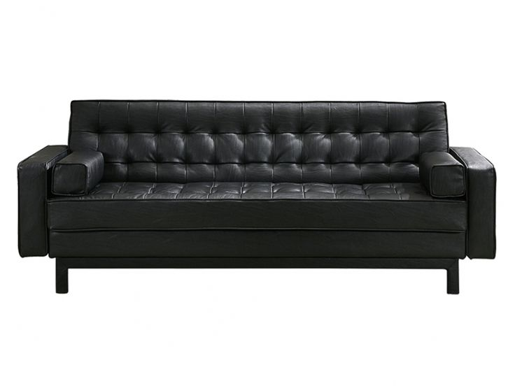 die 25 besten ideen zu schlafsofa leder auf pinterest ledercouch industrielles caf und. Black Bedroom Furniture Sets. Home Design Ideas