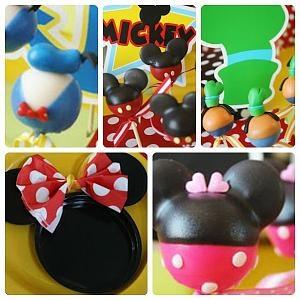 Decoracion de cumplea os de minnie y mickey mouse - Cosas de minnie para cumpleanos ...