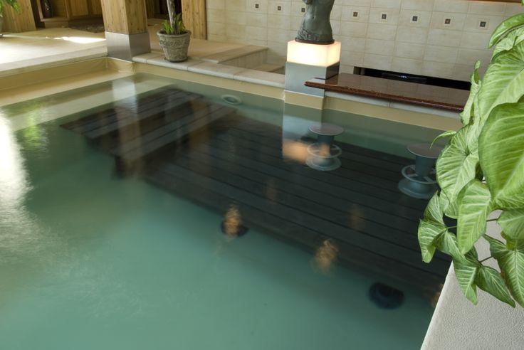 Projet de construction d'une piscine intérieur chez M. Yvan Poitras.