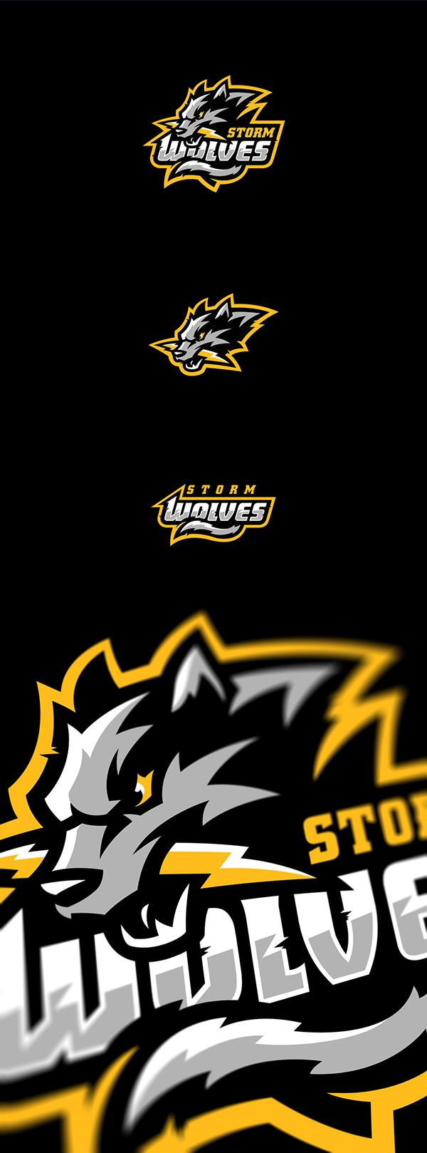 Pin sports logopng on pinterest - Storm Wolves On Behance