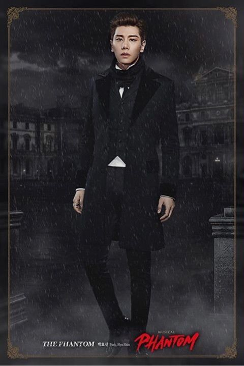 "Park Hyo Shin return to the musical ""Phantom"" an year later 