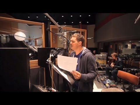 """Michael Bublé - Recording """"All I Want For Christmas is You"""" [Studio Clip]"""