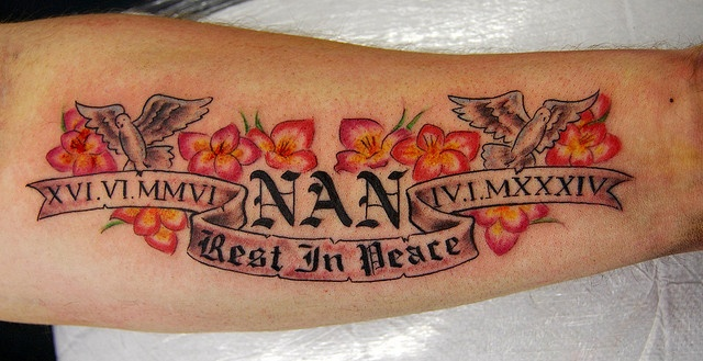 rip nan tattoo
