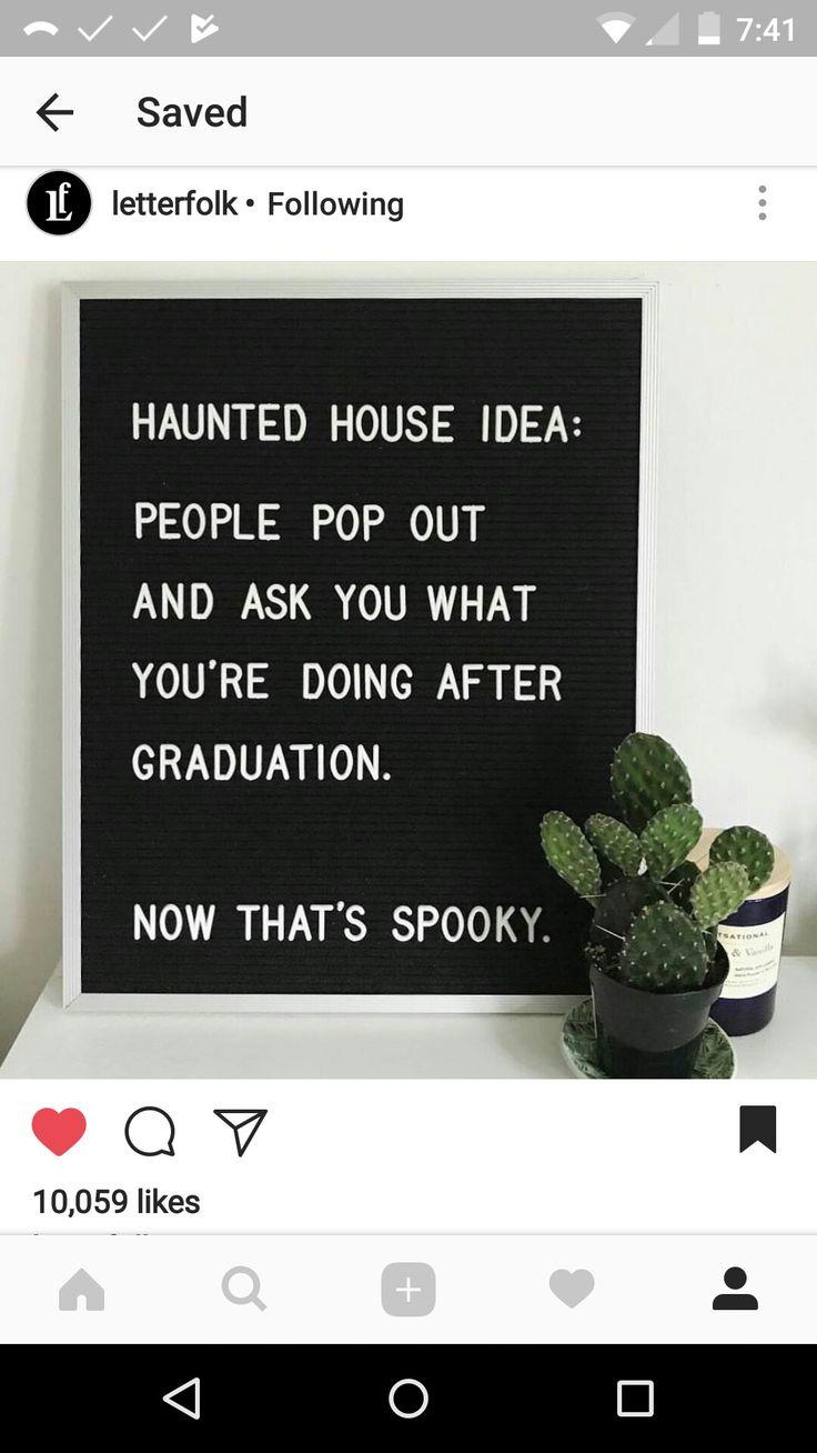 Halloween caption for school