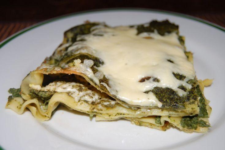 Fotorecept: Špenátové lasagne