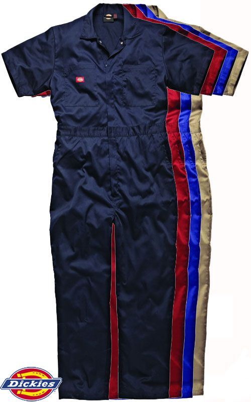Dickies Cotton Coverall Short Sleeve WD2299