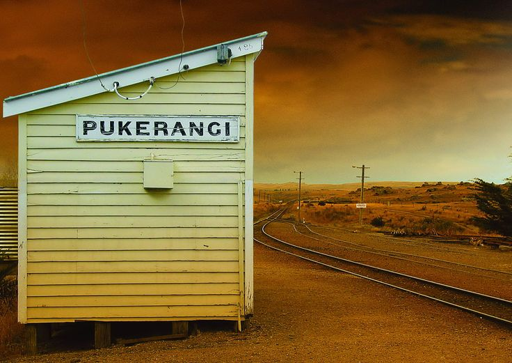Trovolo - Taieri Gorge Railway Pukerangi Station #train #scenery #amazing #NewZealand #travel #photography #station #beautiful