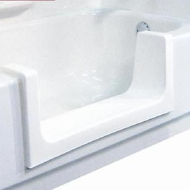 Handicap Accessibility Convert A Bathtub To Walk-in Shower - Easy access for elderly and the disabled. Completed in a day! More information at http://refinishingonline.com/store/handicap-accessible-bathtub-tub-cut-shower-conversion