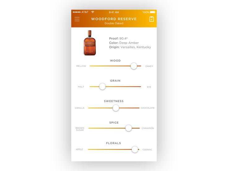 Flavor Profile Screen