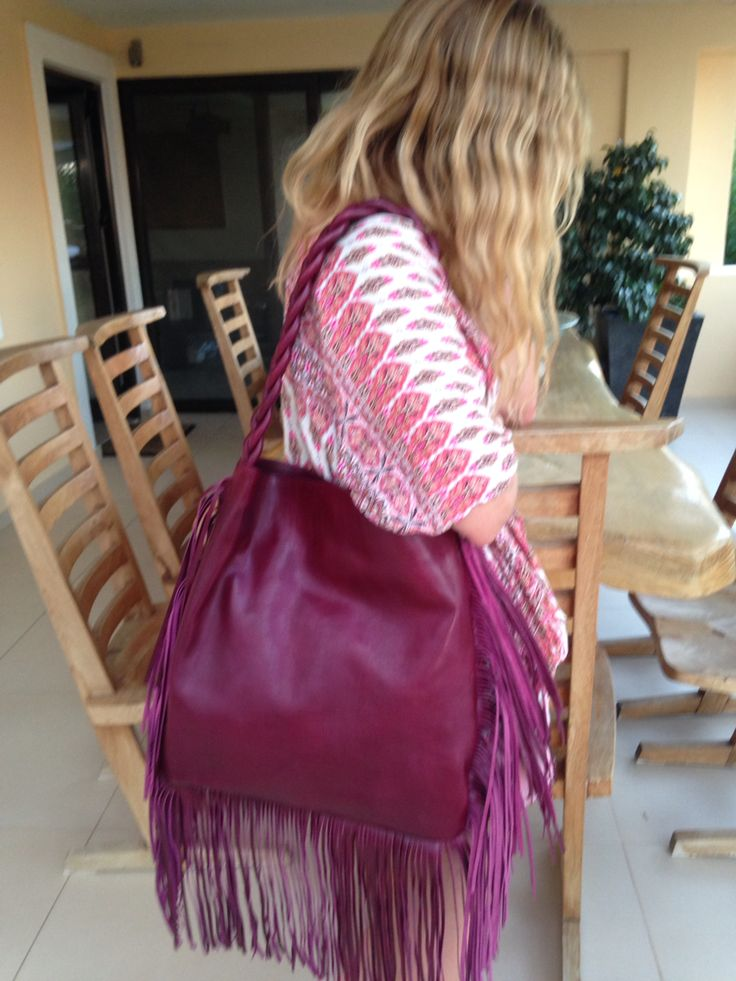 #Streetsbags#handbag#leather#tassels#purple