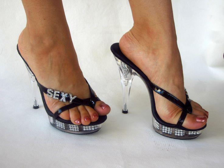 Thong High Heels Etsy Thong Heels
