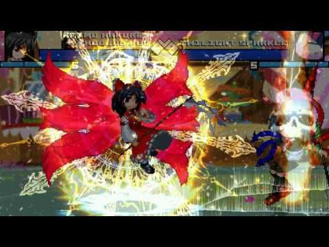New Mugen EVE [HD] - Houjuu Nue and Reimu Hakurei vs Twilight Sparkle