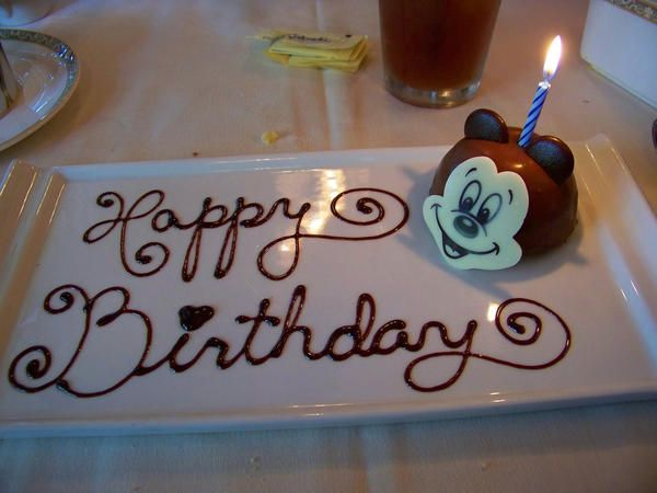 Birthday Celebrations at Disneyland Resort