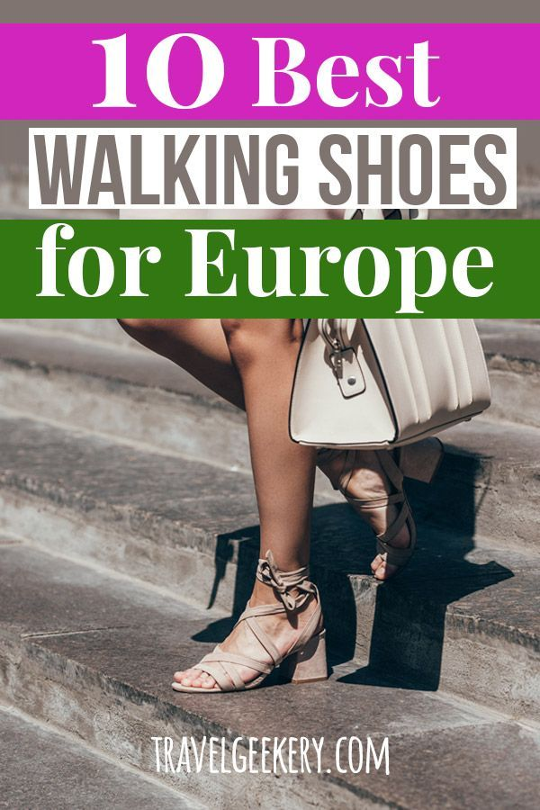 Best Walking Shoes for Europe: 10 Different Styles | MAPPIN