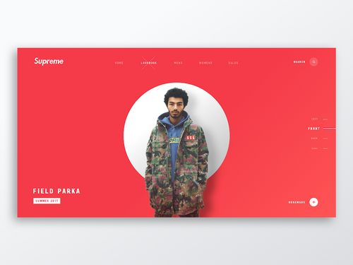 Supreme   Online Fashion Clothing Store Ecommerce  shared via https://chrome.google.com/webstore/detail/design-hunt/ilfjbjodkleebapojmdfeegaccmcjmkd?ref=pinterest