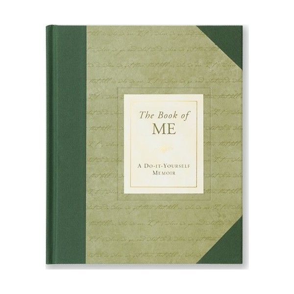 The book of me a do it yourself memoir notebook diary the book of me a do it yourself memoir notebook diary 784 liked on polyvore featuring home home decor and stationery pinterest memoirs solutioingenieria Images