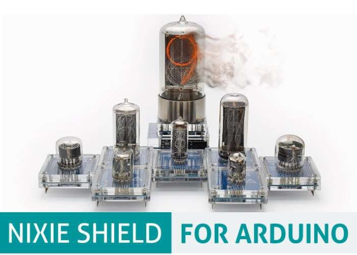 Arduino Nixie Tube SHIELD -   Arduino enthusiasts looking to incorporate Nixie Tubes in their next project may be interested in a new Arduino Nixie Tube SHIELD which has been created by Marcin Saj based in Poland.    The Arduino Nixie Tube SHIELD …