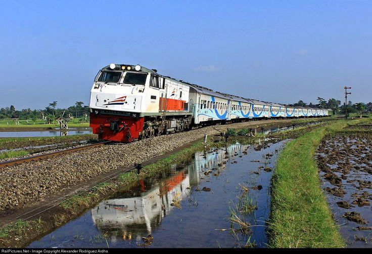RailPictures.Net Photo: CC 203 98 08 PT KERETA API INDONESIA GE U20C at Blitar, Indonesia by Alexander Rodriguez Ardha