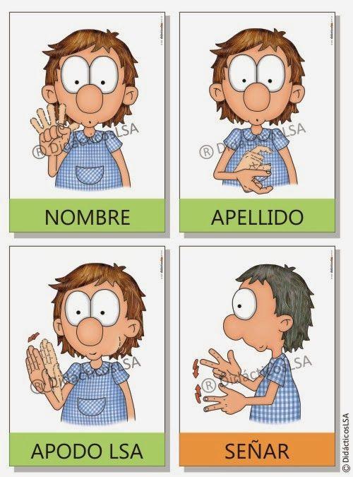 Juegos y Material Didáctico en Lengua de Señas Argentina®: Láminas, lonas y figuritas