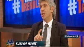 """Fatih Portakal ile Türkiyenin Trendlerinde """"Kuraklık"""" Tartışılıyor program konukları iklim değişikliği derelere yapılan HES'lerin kuraklığa etkisi hakkında görüşlerini belirttiler"""