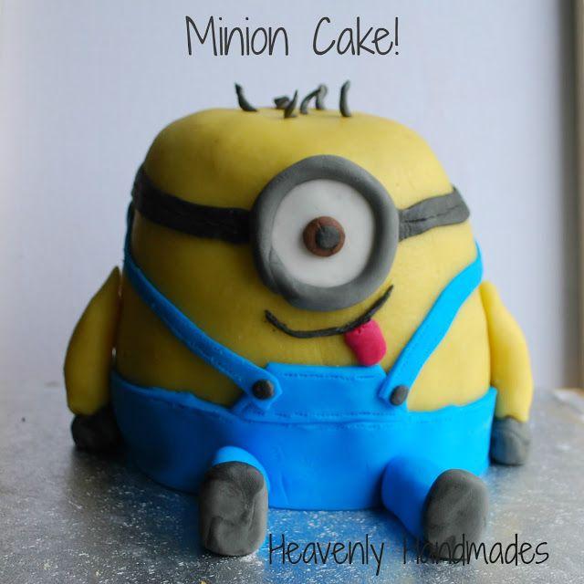 Heavenly Handmades: DIY Minion Cake!