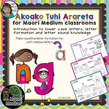 Maori Handwriting for Emergent Learners