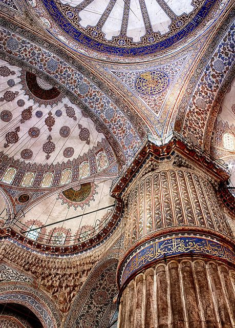 Inside Blue Mosque in Ramadan [EXPLORED] by Andy Atakan, via Flickr