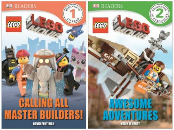 Brand New The Lego Movie Reader Books and Sticker Book at a discount. Great party favors for Lego parties!