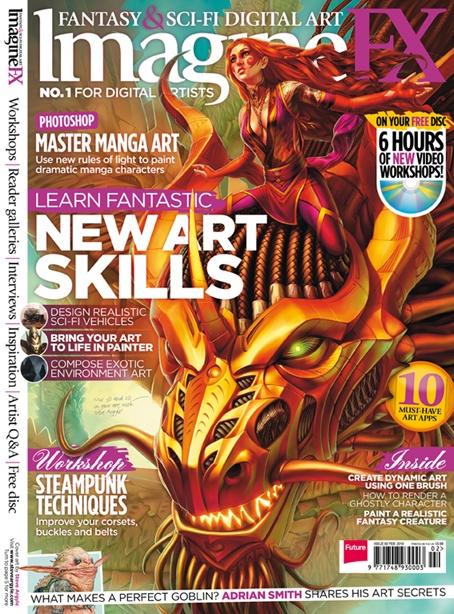 Imagine FX - www.imaginefx.com    #imaginefx #sci-fi #magazine #futurepublishing #jobs #bathjobs #londonjobs