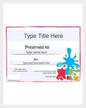 For rewarding somebody now use the bland certificates which user can easily print them through online format. This blank gift certificate can be printed for two pages as sample and can be gifted for graduation, birthday, holidays and special moments. According to the needs of the user they can select the font size.