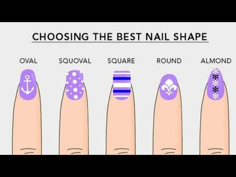 How To File Diffe Nail Shapes Almond Stiletto Coffin Oval Square