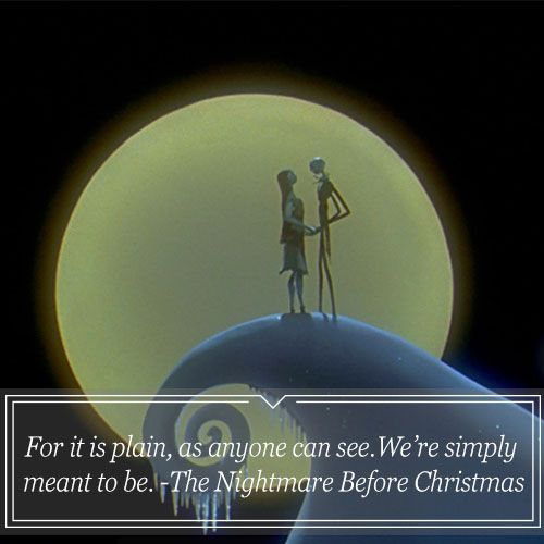 I looove nightmare before Christmas sooo much