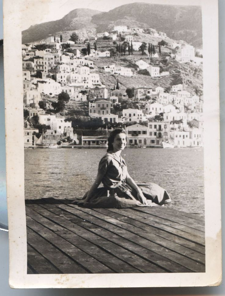 GREECE SYMI SMALL PHOTO 01.08.1959