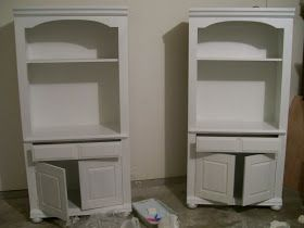 The Pear Tree Cottage: How To Paint Particleboard / Laminate Furniture