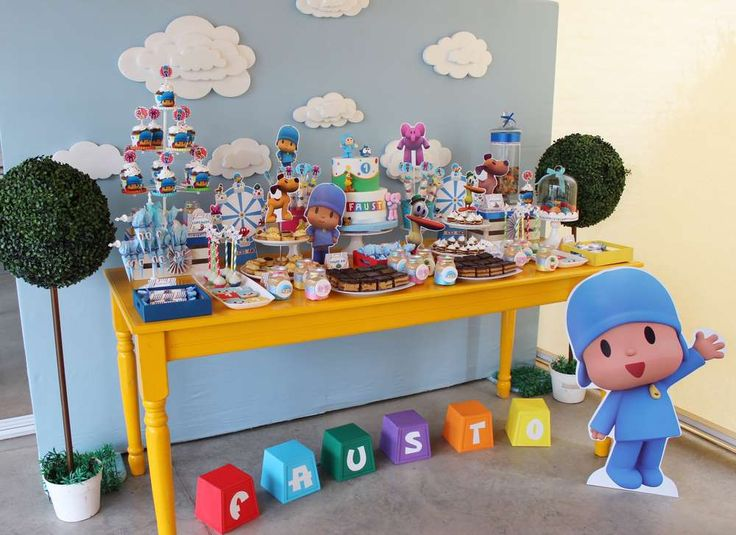 Pocoyo  Birthday Party Ideas | Photo 10 of 15