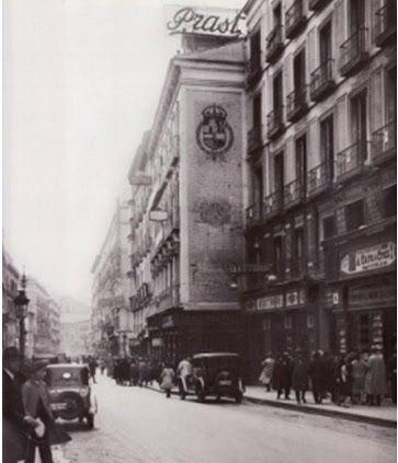 Almacenes Prast, antigua casa del Ratoncito Pérez año 1934 calle Arenal Madrid